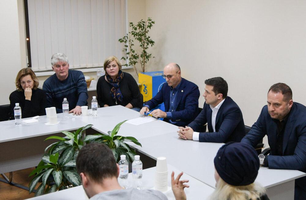 Zelenskõi: Ukraina lennuki raketitabamuse saamist ei välistada, aga praegu pole see ka kinnitatud