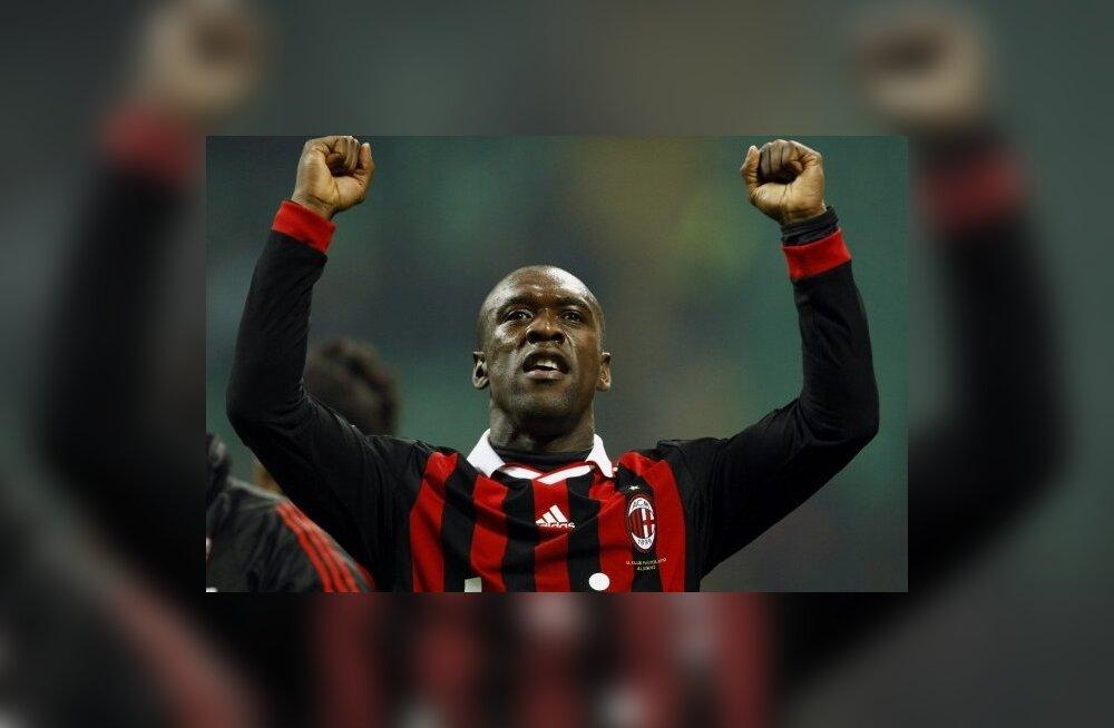 AC Milani vanameister Seedorf liitus Brasiilia klubiga