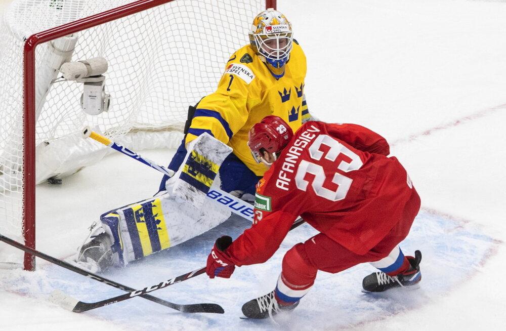 ВИДЕО: Молодые российские таланты вырвали победу у шведов в овертайме