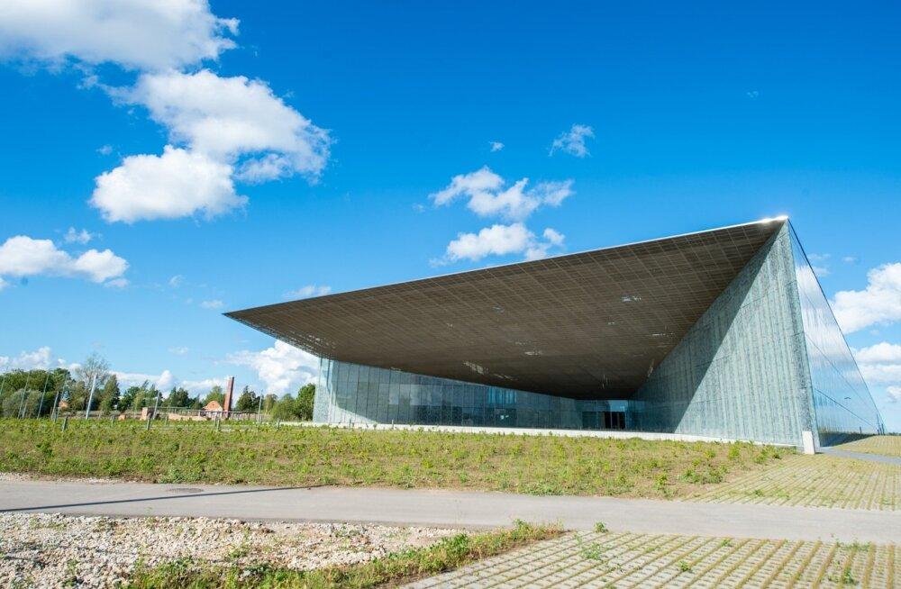 Eesti Rahva Muuseum paar kuud enne pidulikku avamist.