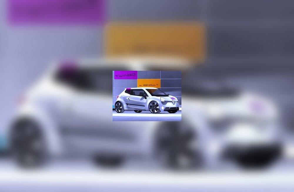 Renault Twingo нового поколения получит задний привод