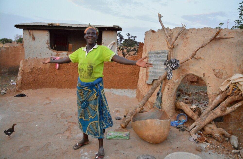 Kitsed Kongo küla leskedele