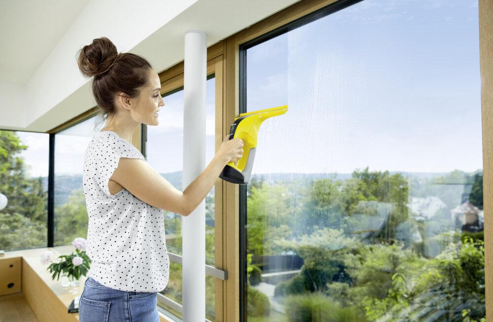 Lase päike lõpuks tuppa – pese aknad ära