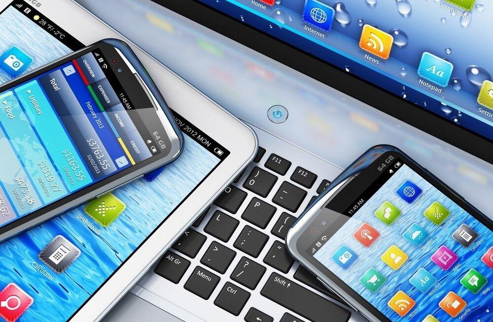 Rahakülluses tehnoloogiasektor.