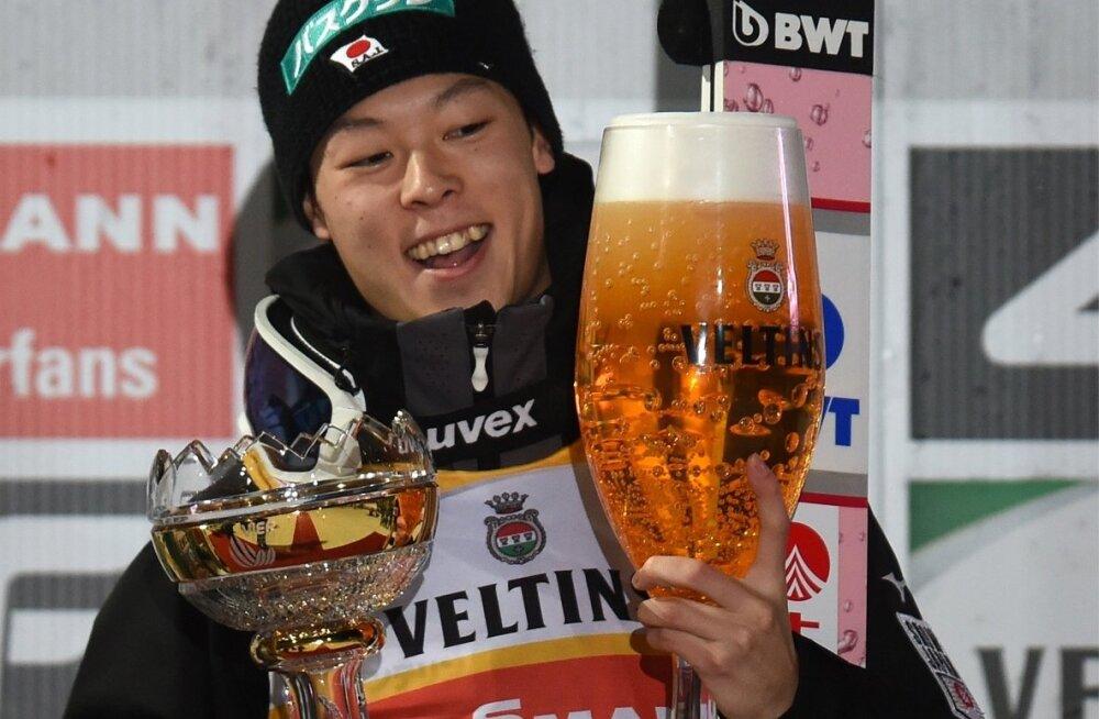 Võidukas Ryoyu Kobayashi.