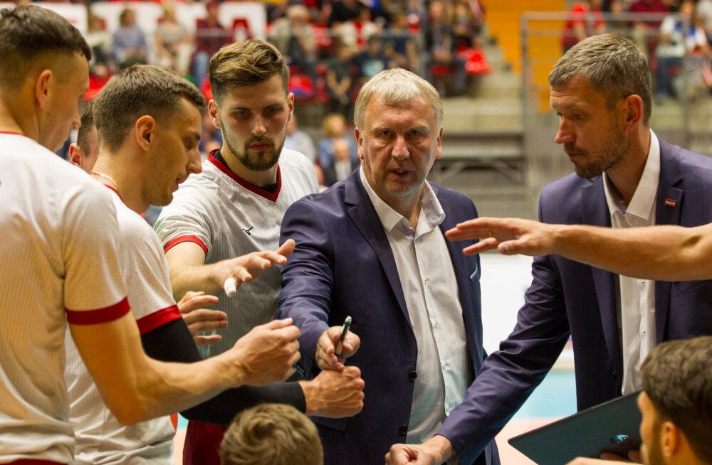 Läti võrkpalliliit vaagis koondist juhendanud Avo Keele personaalküsimust ja otsustas: <em>jauna iespēja</em>!