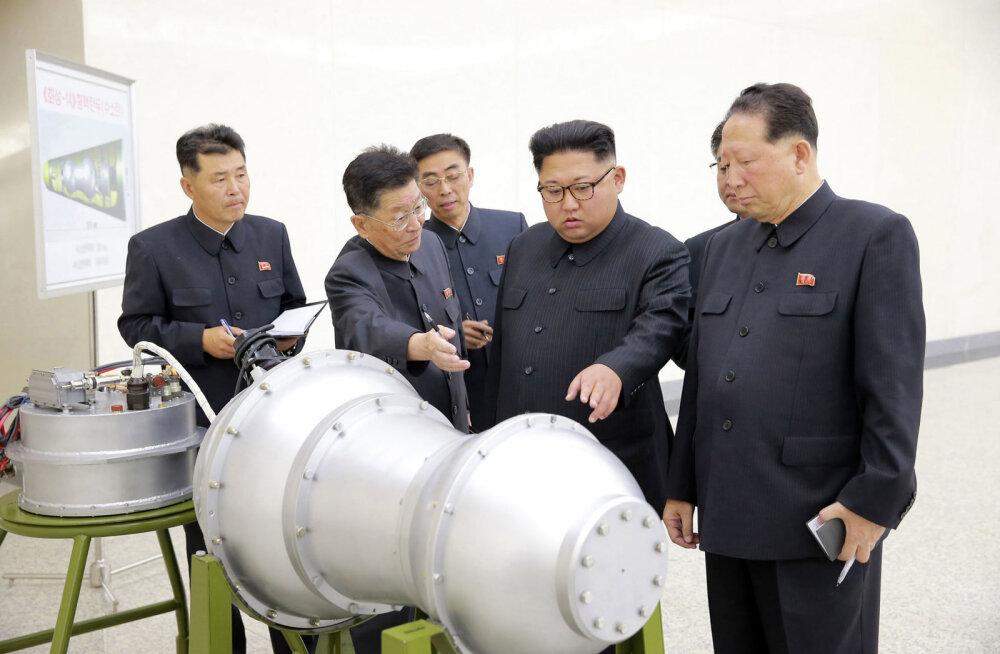 Põhja-Koreas viidi läbi järjekordne tuumakatsetus