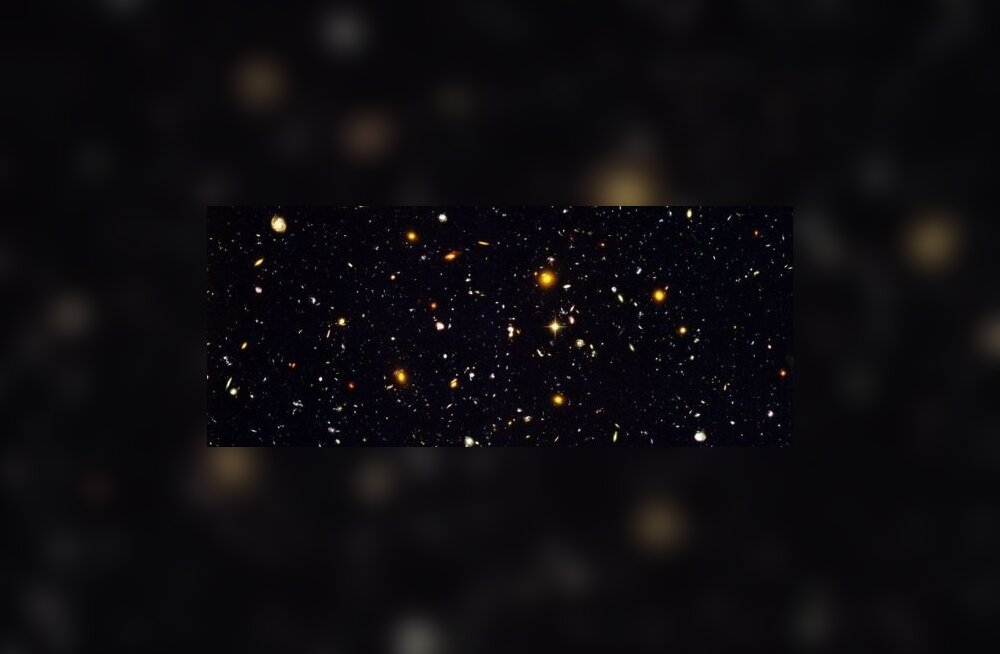 Tundmatu struktuur kisub meie universumit enda poole