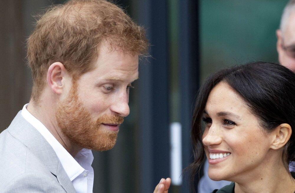 Kõlakad! Prints Harry ja Meghan Markle püüavad last saada