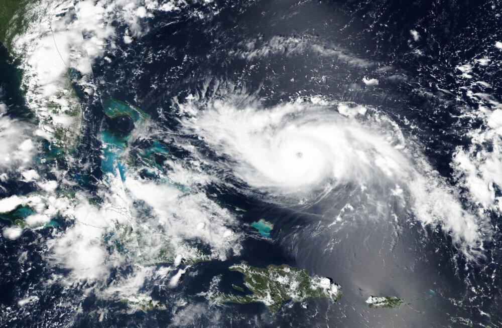 USA rannikut ähvardav orkaan Dorian kasvas ohtlikuks neljanda kategooria tormiks
