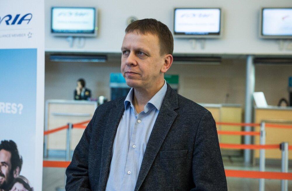 """Nordica juht Jaan Tamm ütles, et kõigepealt tuleb hanketingimused läbi vaadata. """"Heategevust tegema"""" ei mindavat."""