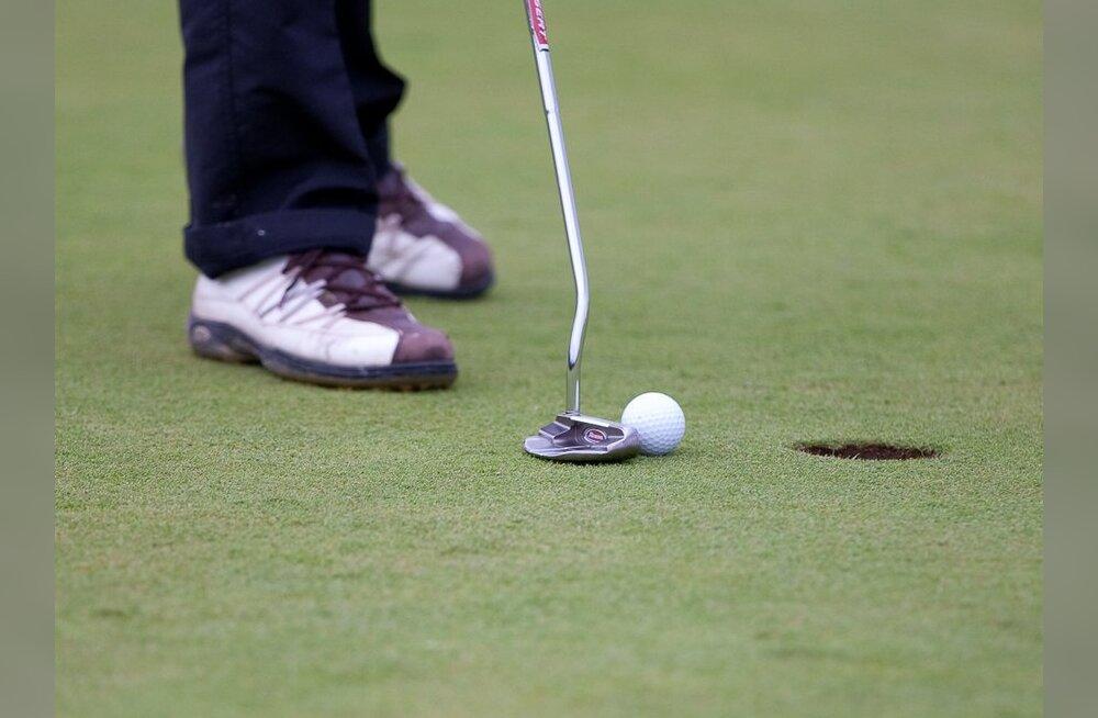 Niitväljal peeti XIX karikavõistluste esimene ring golfis