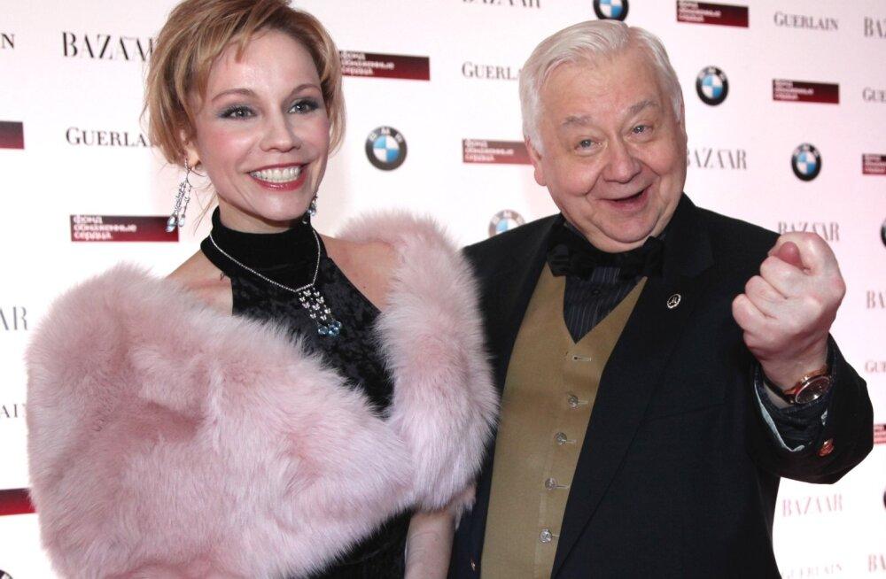 Marina Zudina ja Oleg Tabakov