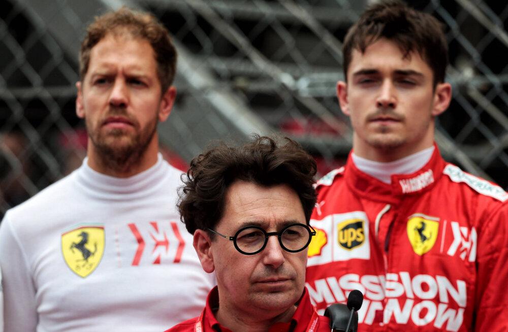 Ferrari pealik avas Vetteli lahkumise tagamaid