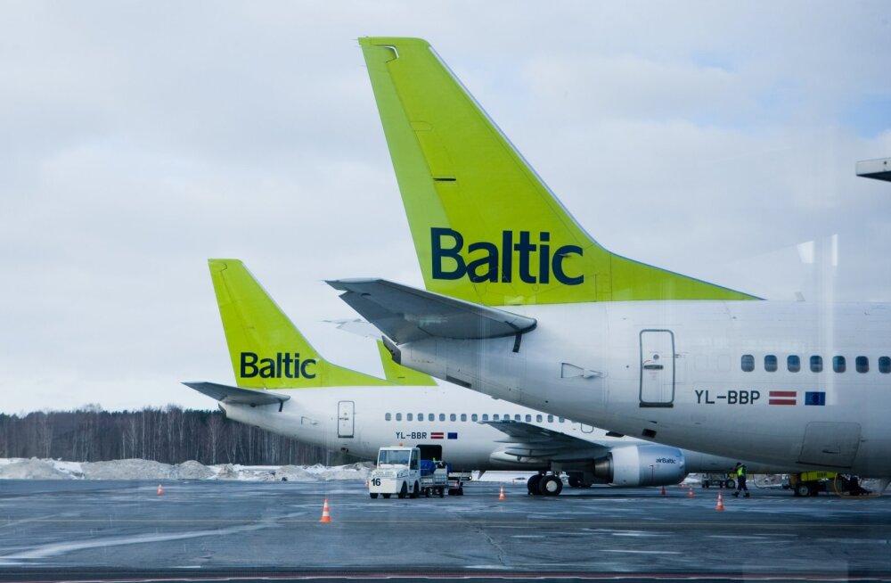 C сегодняшнего дня airBaltic восстанавливает авиасообщение между Таллинном и Вильнюсом