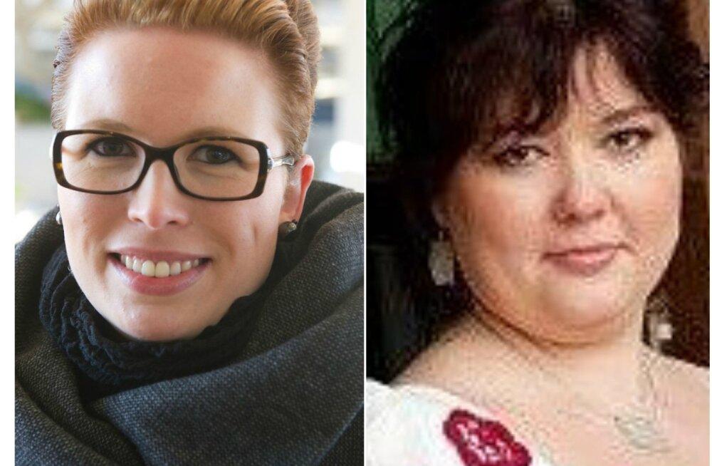 Terhi Pääskyla-Malmström ja Triin Üksvärav