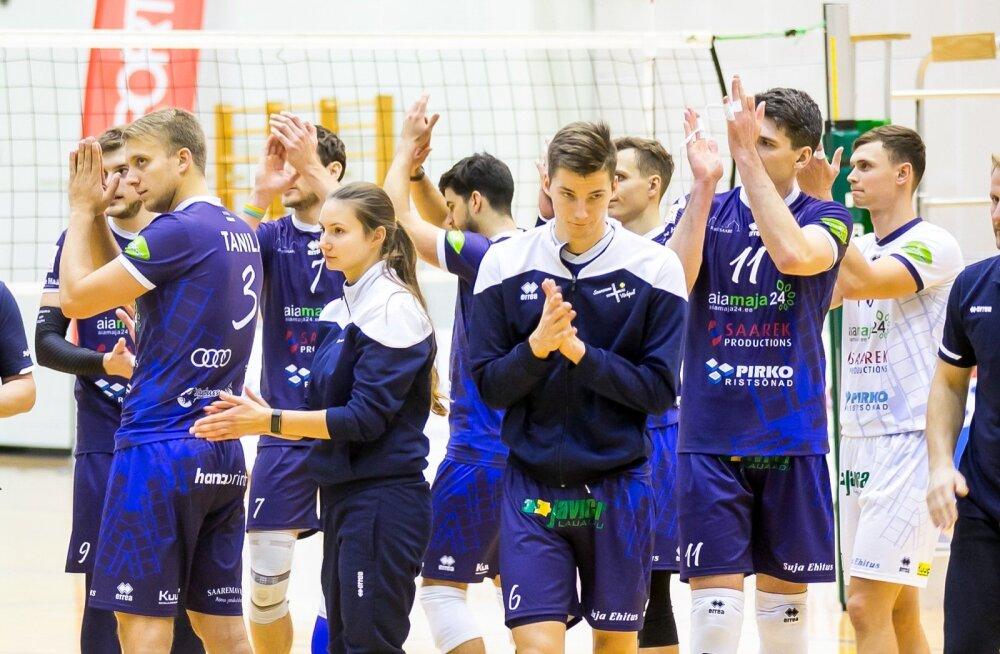 Võrkpall karikamäng Saaremaa VK ja Selver Tallinn