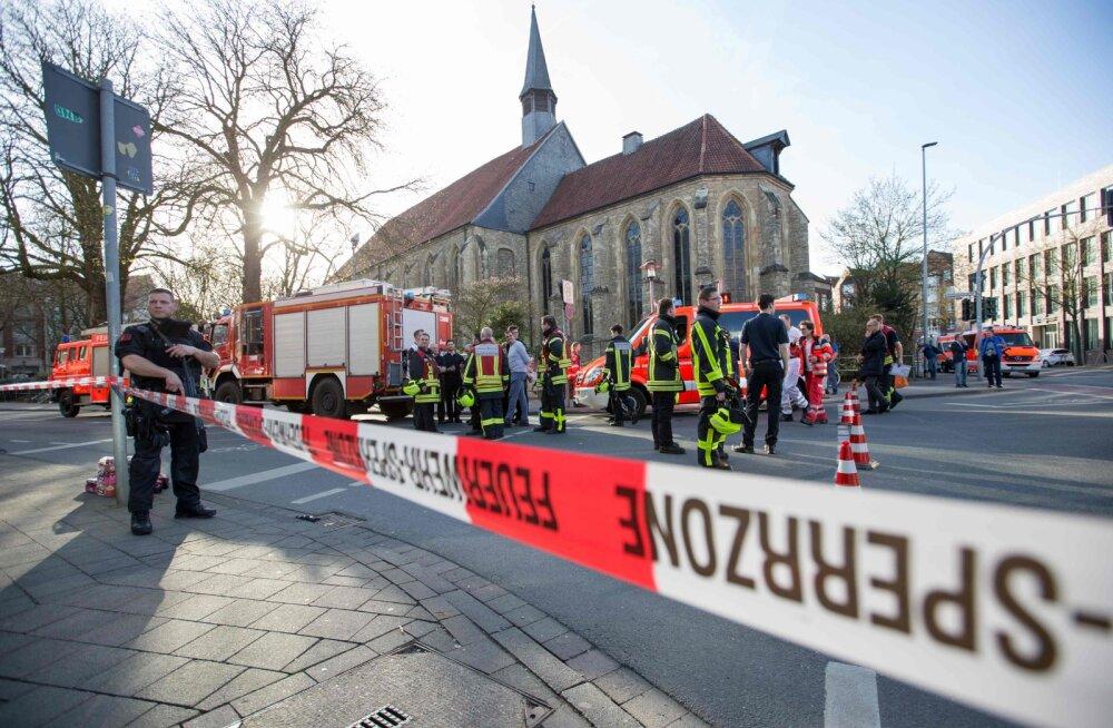 В нападении в Мюнстере не нашли исламистского следа, водитель был болен психически