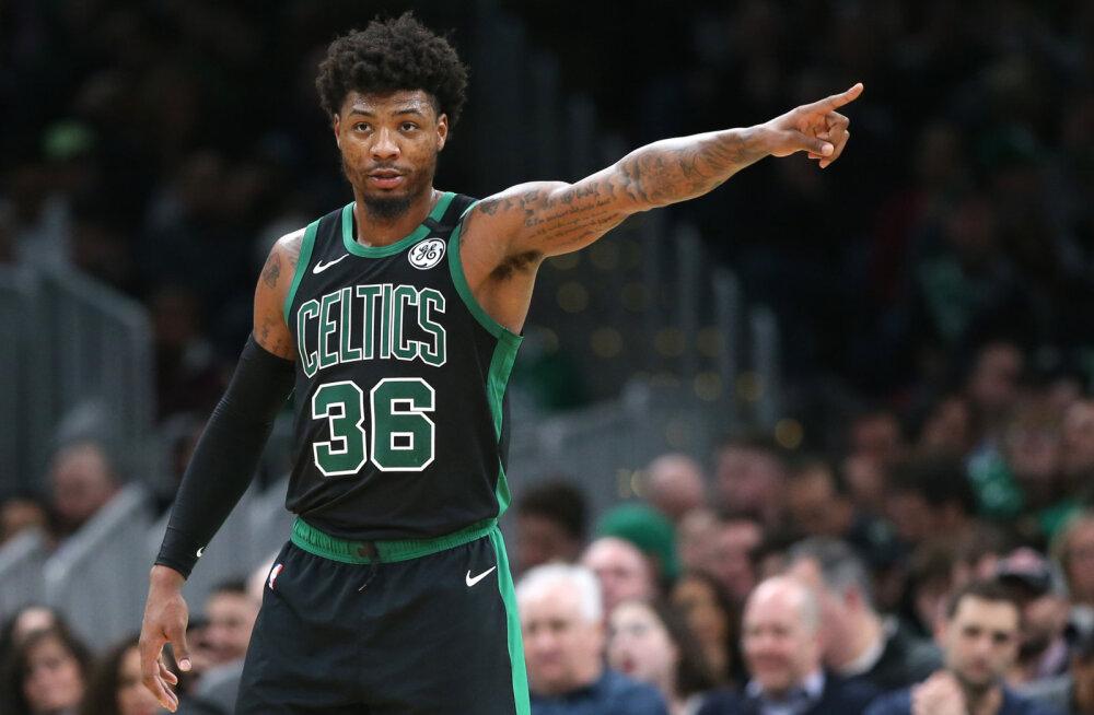 Neli NBA klubi kinnitasid neljapäeval koroonaviirusesse nakatumist