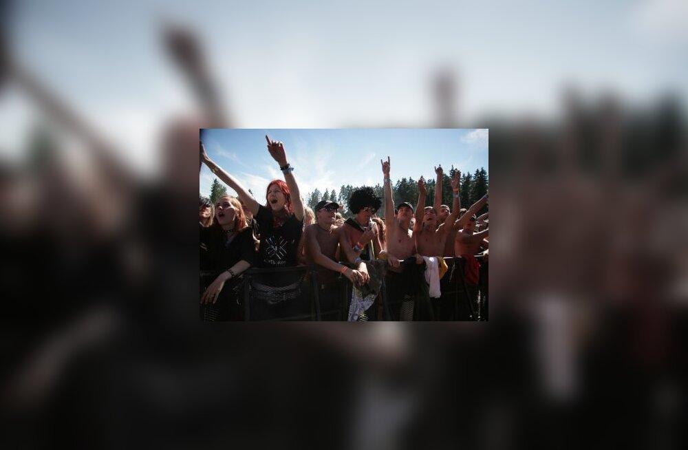 Rabarock, rock, kontsert, fännid