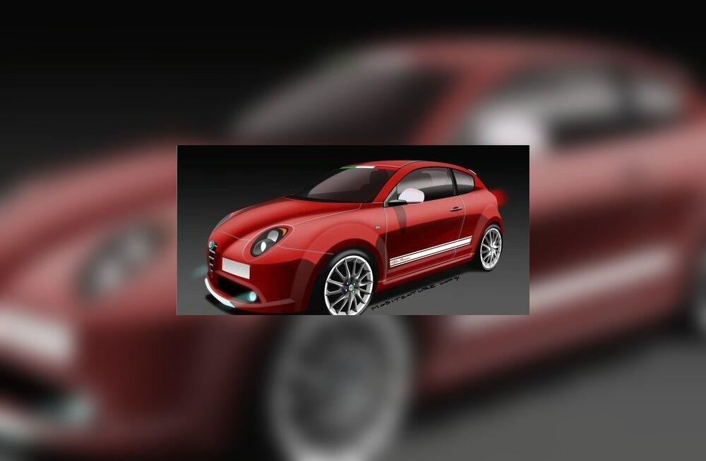 Alfa Romeo MiTo Veloce – tavalisest kiirem