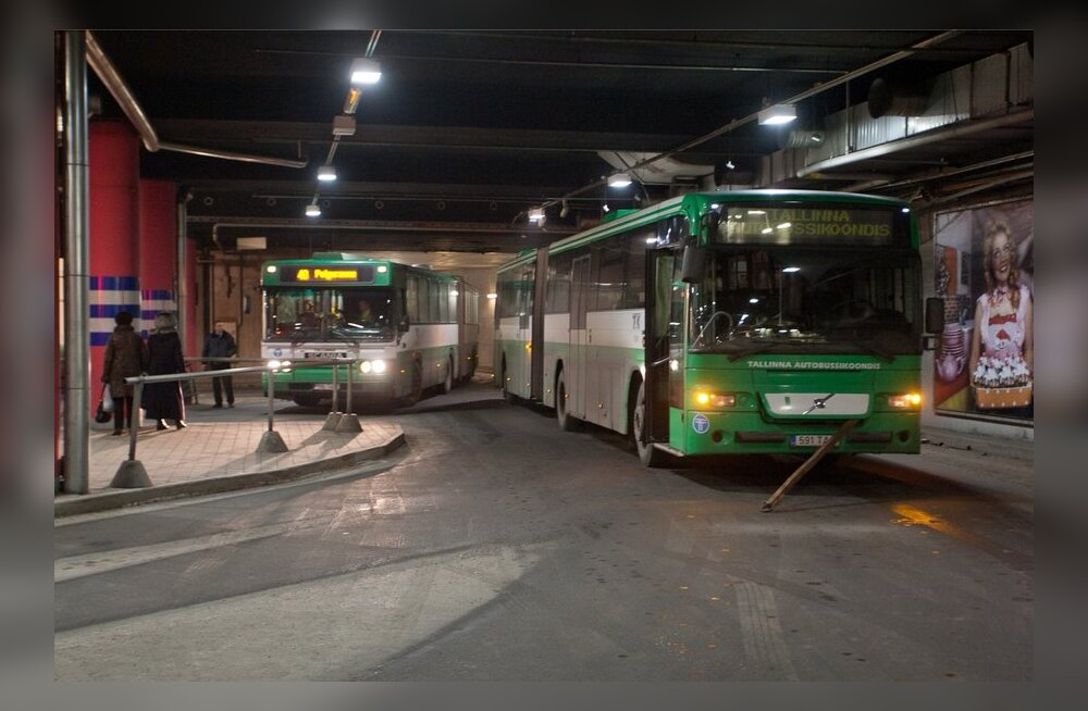 Viru keskuse bussiterminal