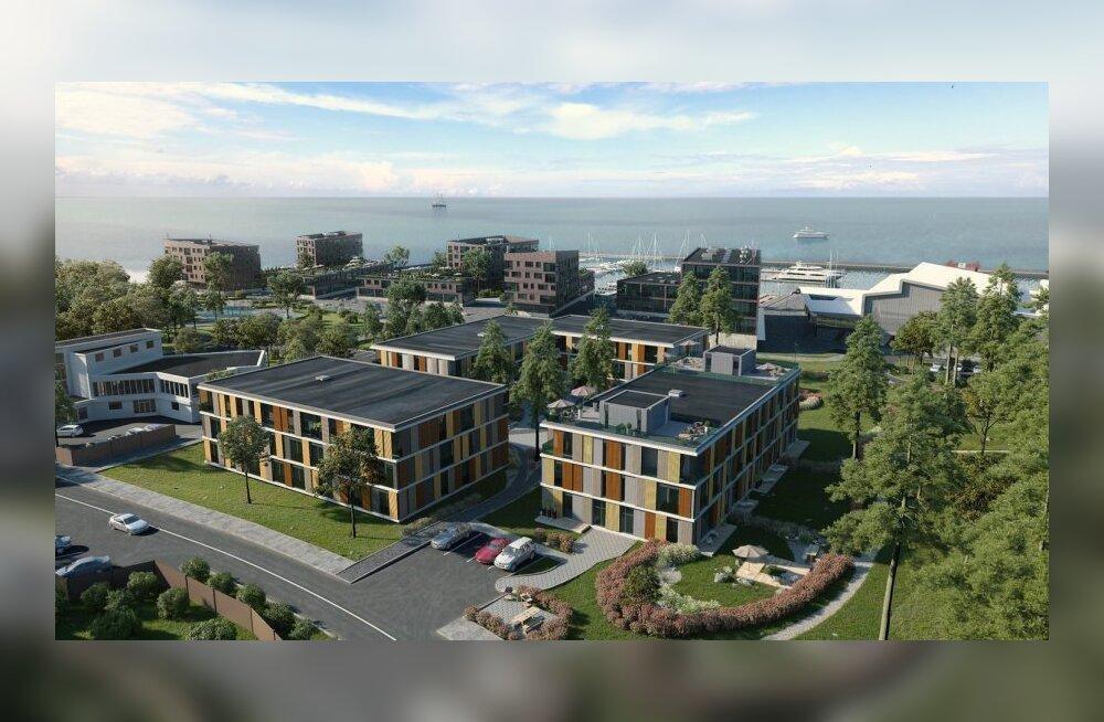 Nordecon и Haven Kakumäe построят три многоквартирных дома в Какумяэ
