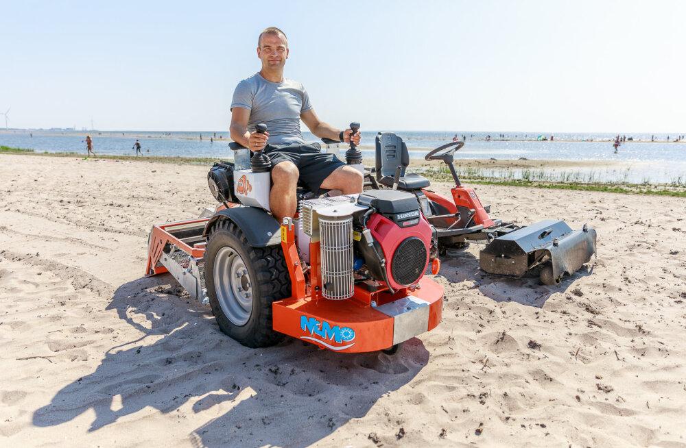 MEIE MAA | Uued masinad aitavad Mändjala randa paremini puhastada