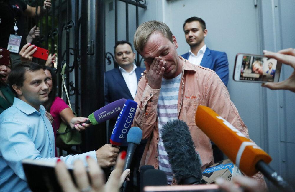 Kokaiinikotike taskus või kanep autoistme all. Miks avastavad Vene võimud endale tüütute isikute juurest üha narkootikume?