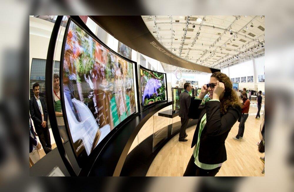 Samsung esitleb oktoobris kaardus ekraaniga nutitelefoni