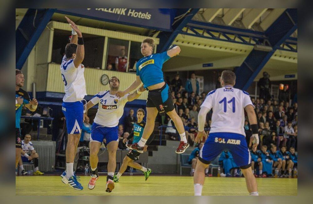 Dener Jaanimaa ohustamas Bosnia väravat, käsipall