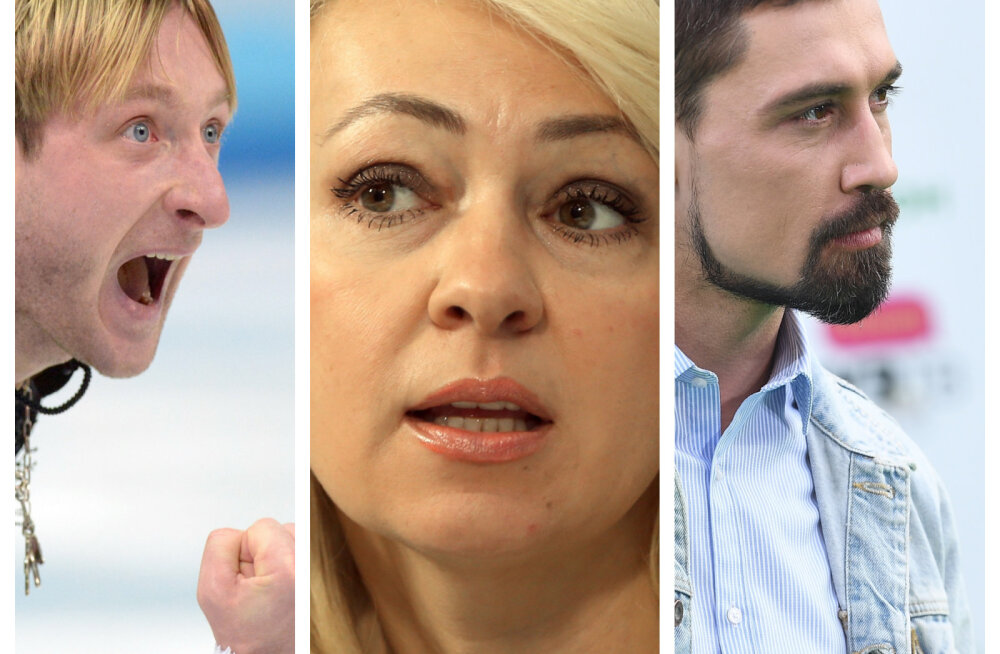 Jevgeny Plushenko naine suhtest Dima Bilaniga: ta sobis mulle täielikult