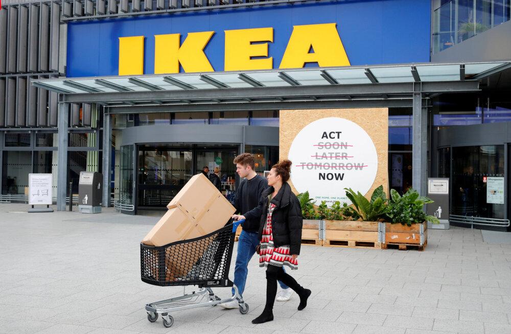 IKEA kulutab kliimamuutusega võitlemiseks üüratu summa