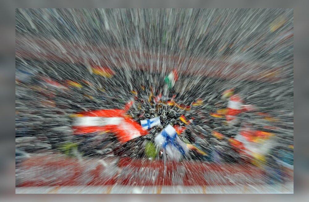 Nelja Hüppemäe turnee etapp Oberstdorfis, suusahüpped