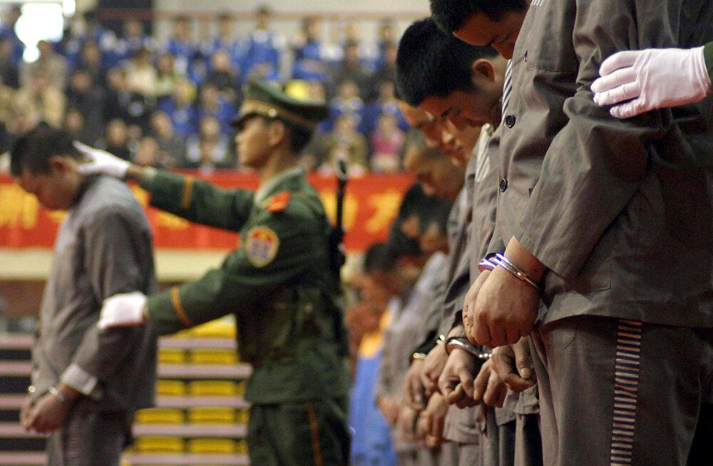 Hiinas mõisteti narkosüüdistuste alusel surma Kanada kodanik