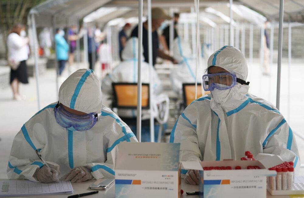 Uue puhanguga võitlev Peking loodab koroonaviiruse leviku juulikuus nullini viia