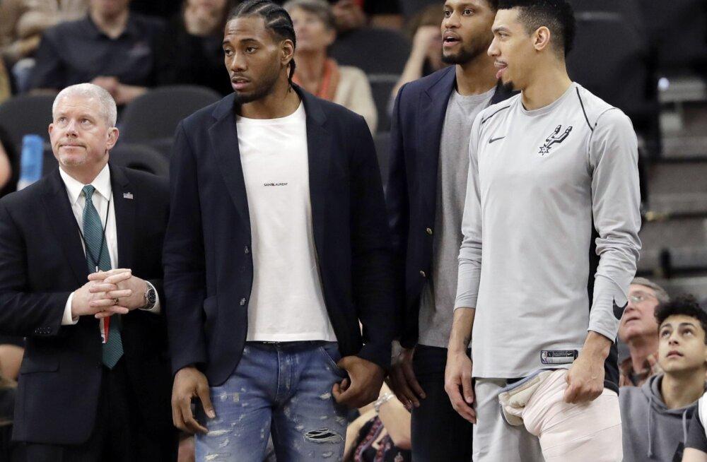 San Antonio Spurs on üle 21 aasta play-off'ist eemale jäämise ohus