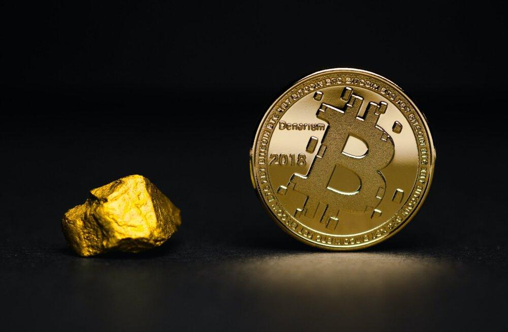 Bitcoini väärtus on nädalaga tublisti tõusnud