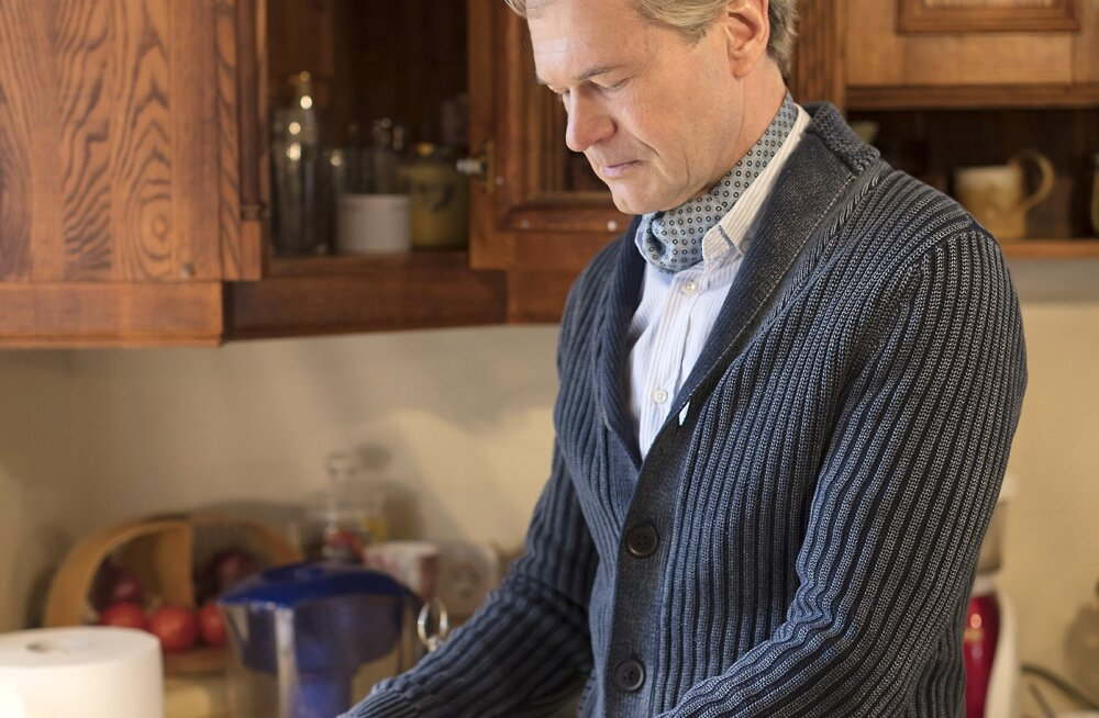 Kiropraktik Allan Oolo hommikuroaks on veri ja toores liha...