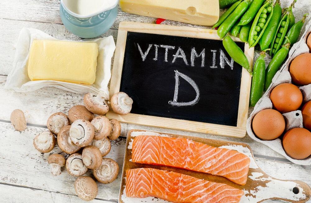 Pane tähele! Märgid, mis näitavad, et sul võib olla D-vitamiini puudus