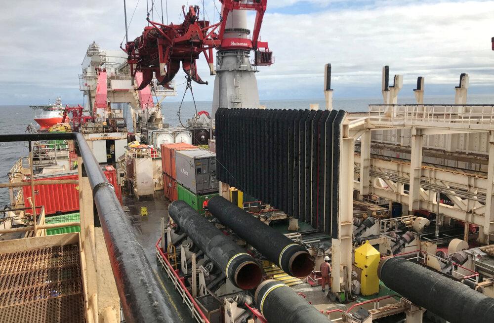 USA minister: Venemaa ei suuda sanktsioonide tõttu Nord Stream gaasitoru ehitust lõpuni viia