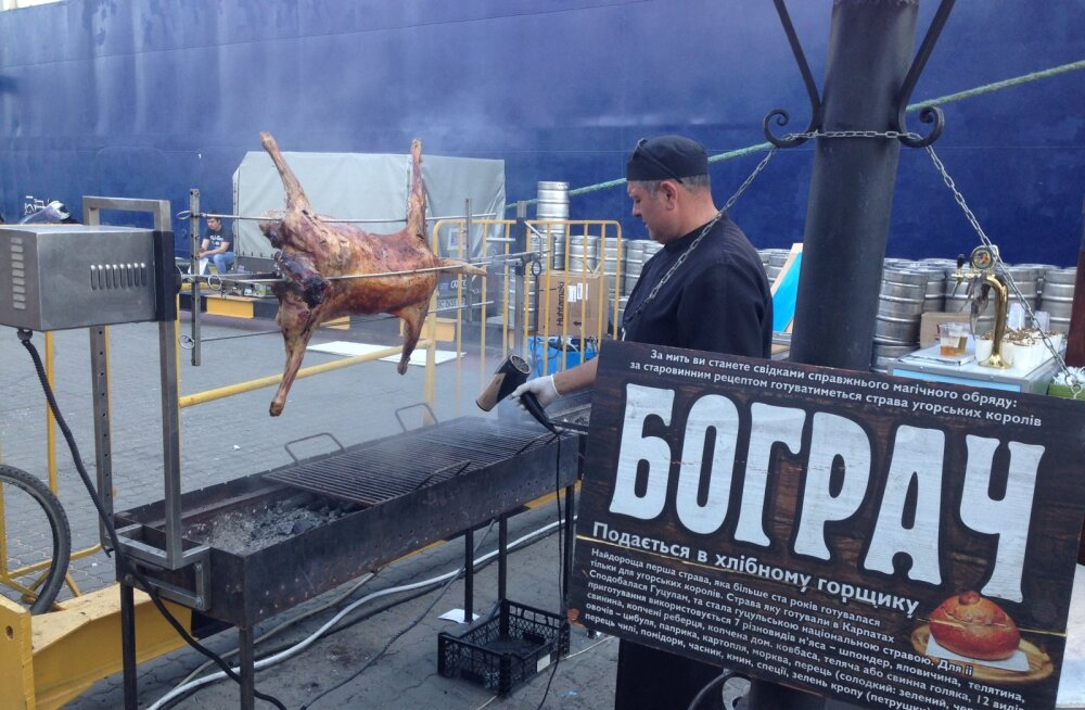 TOIDUREIS: Odessas uurimas, mis tähendab olla rikas