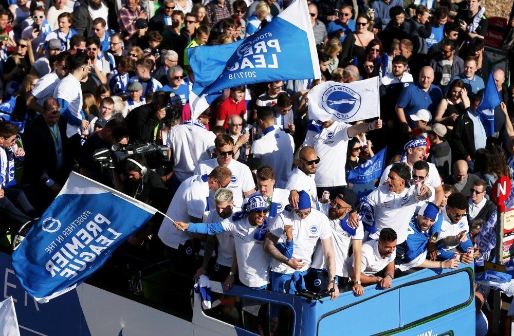 Teleõigused muudavad Inglise liiga tagumised klubid rikkamaks kui kunagi varem