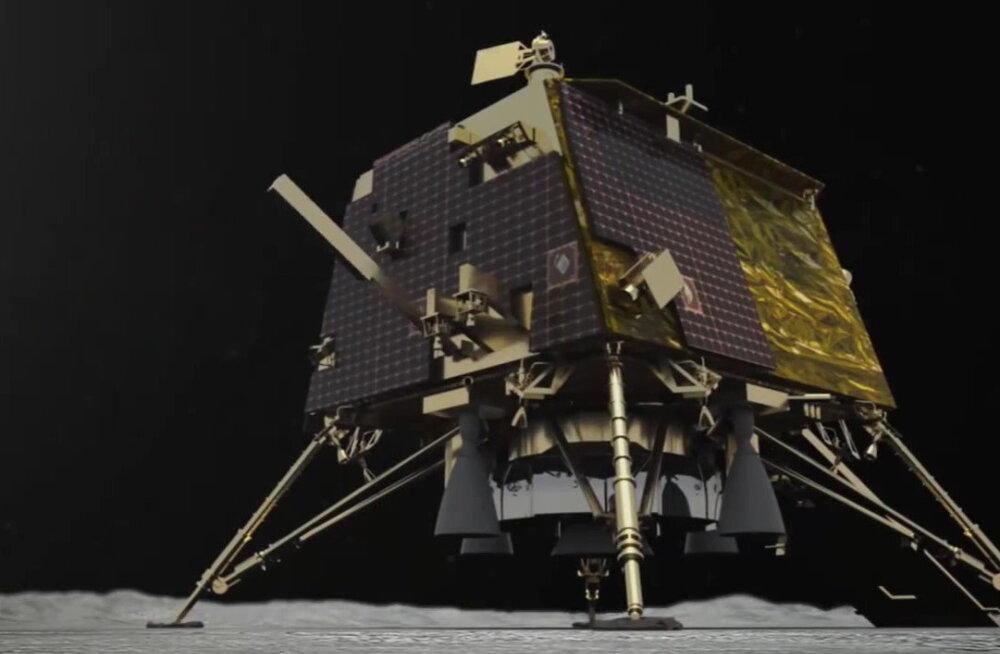 Veel üks õnnetus Kuul: India kaotas kontakti oma kuu-maanduriga