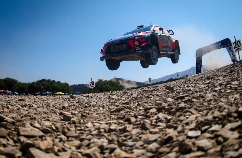 Hyundail pole Mehhikos võita õnnestunud. Vahest parandab Ott Tänak selle vea.