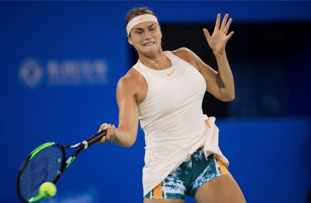 Wuhanis poolfinaali jõudnud Arina Sabalenka