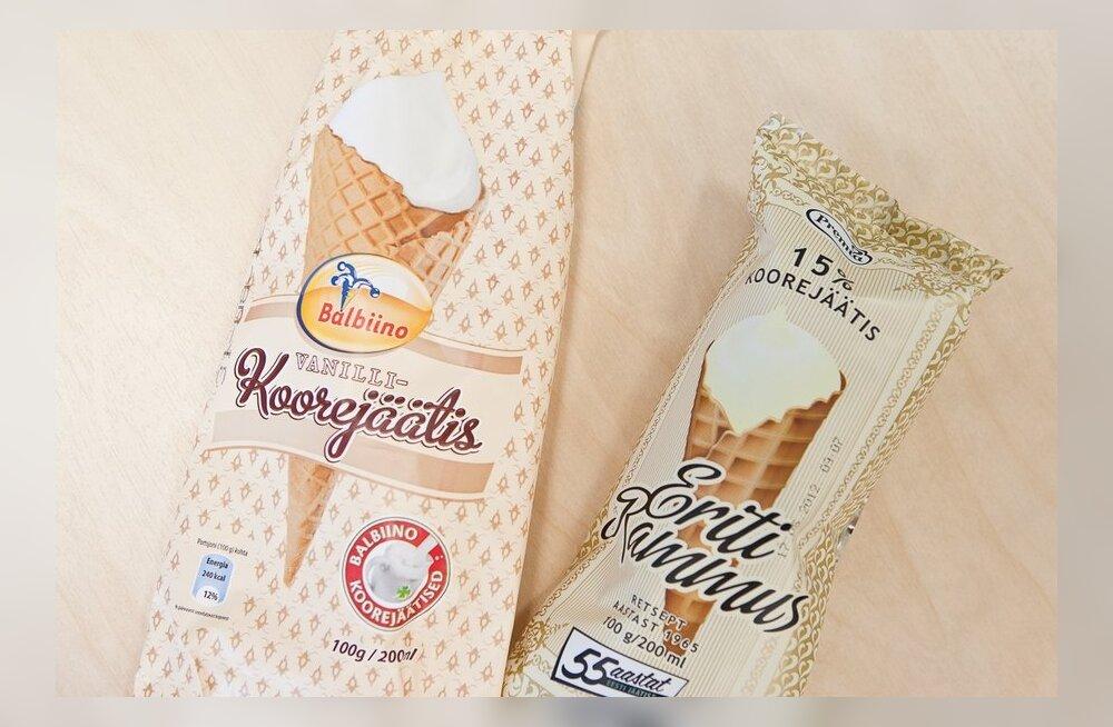 Premia: amet ei käskinud kummalgi ettevõttel jäätisepakendit muuta