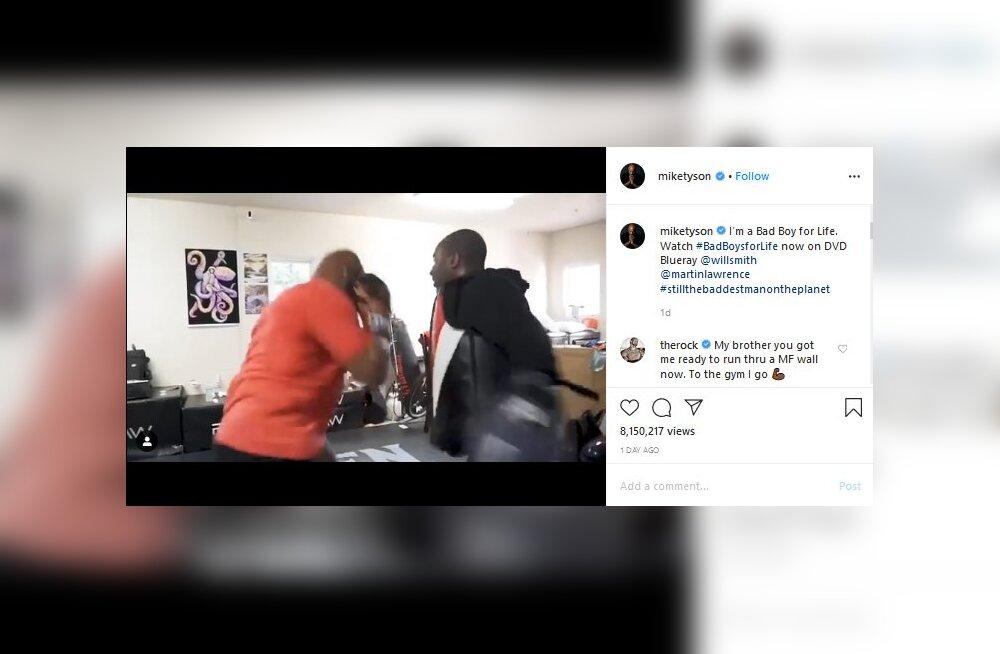 VIDEO   Mike Tyson demonstreeris, kui heas vormis ta veel 53-aastaselt on!
