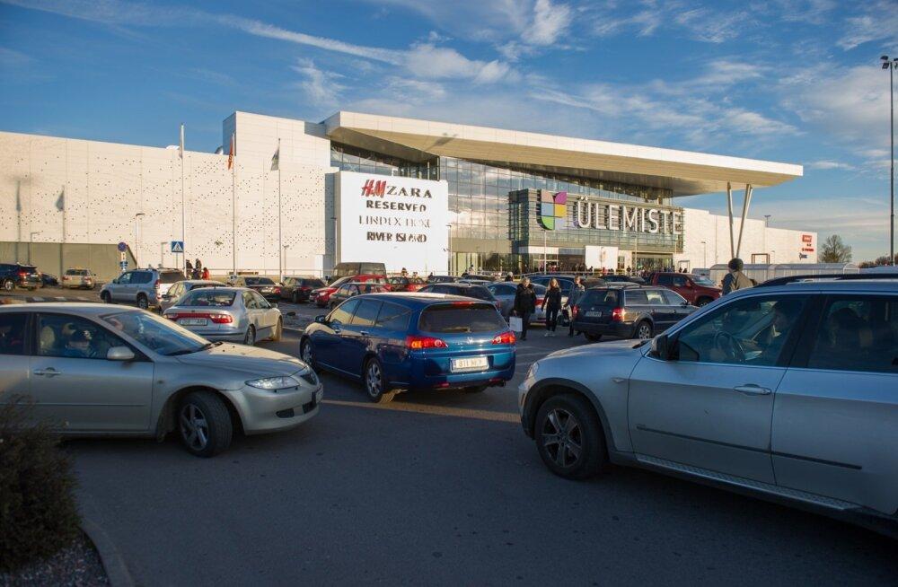 Ülemiste keskuse parkimiskorraldus