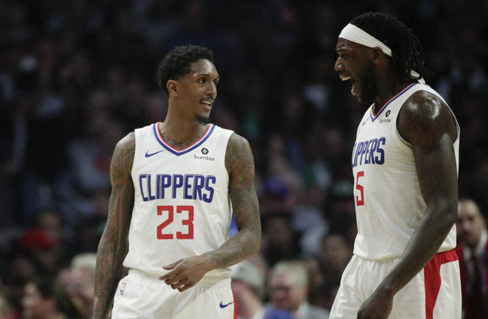VIDEO | Thunder sai magusa võidu, Clippersi mängumees tõusis NBA ajaloos esikohale